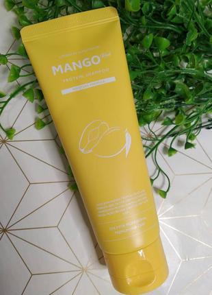 Шампунь с экстрактом манго для сухих волос evas pedison mango ...