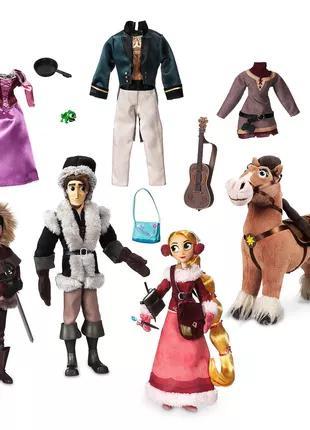 Большой набор кукол Рапунцель, Кассандра и Юджин