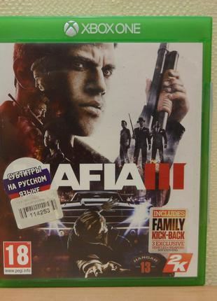 Диск с игрой Mafia III для Xbox ONE, ONE S, ONE X, Series X