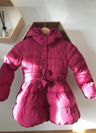 Куртка для девочки 5-6 лет куртка розовая