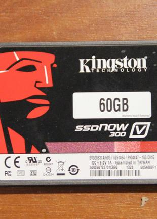 """2.5"""" SSD  Kingston SSDNow V300 """"SV300S37A/60G"""" 60Gb SATA600 NA..."""