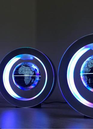 Глобус парящий в воздухе, светильник ,ночник,led,настольная лампа