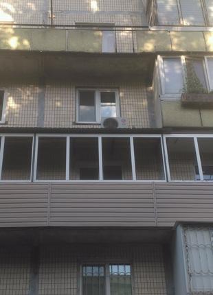 Балконы под ключ.