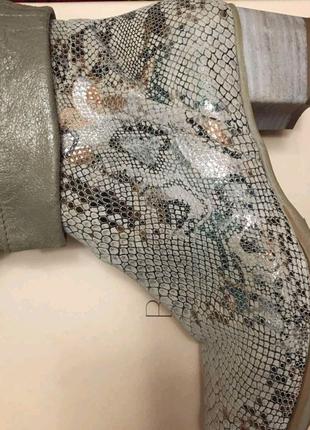 Ботинки Италия рептилия