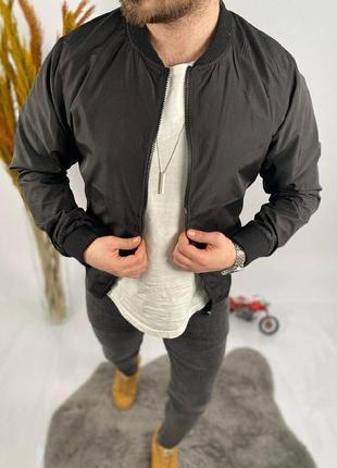 Мужской бомбер куртка мужская одежда осень весна
