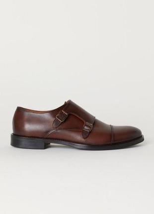 Кожаные туфли с ремешком h&m
