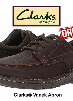 Черевики чоловічі Clarks® Vanek Apron original 43, 45 EU 261 3064