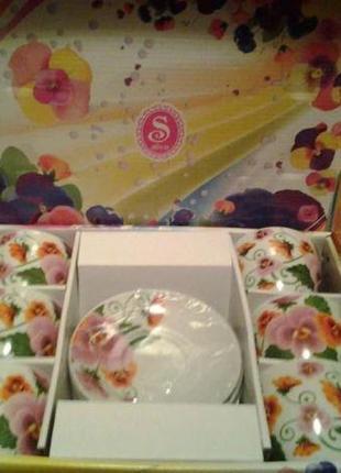 Подарочный набор: чайный сервиз на 6 персон