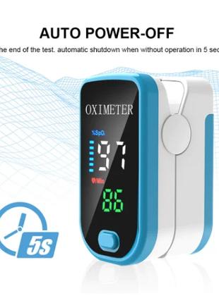 Портативный пальчиковый пульсоксиметр SPO2 пульсовая Оксиметрия и
