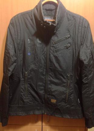 Куртка g star raw весна -осень черная