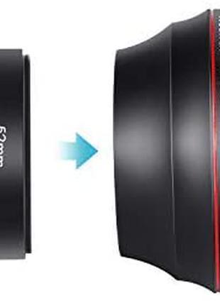 Neewer 58 мм 0,43-кратний професійний HD-ширококутний об'єктив