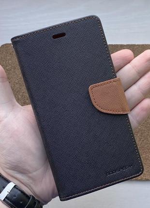 Чехол книга черный чохол на для айфон iphone 6 + s plus плюс с...