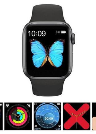 Смарт часы T500 (Smart Watch) Умные часы Чёрный