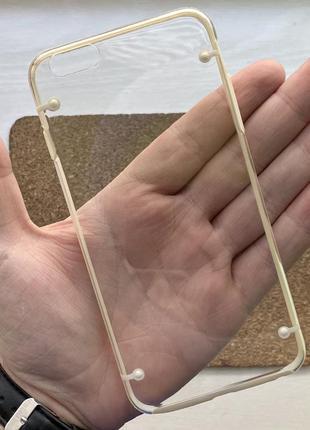 Чехол прозрачный чохол на для айфон iphone 6 + s plus плюс сил...