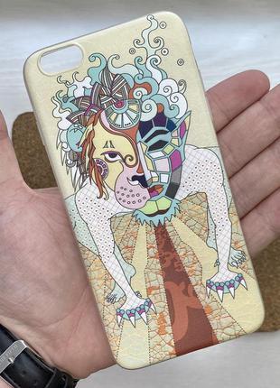 Чехол светлый чохол на для айфон iphone 6 + s plus плюс силико...
