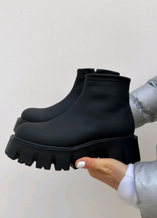 Женские ботинки берцы мартинсы челси 36-41р натур кожа