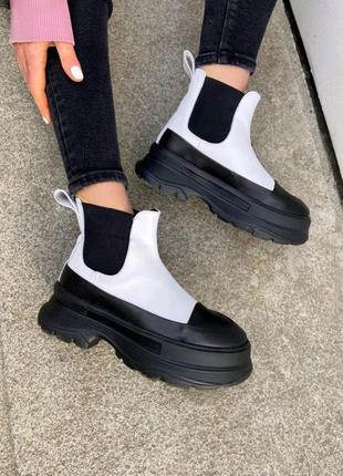 Женские ботинки берцы броги мартинсы 36-41р натур кожа