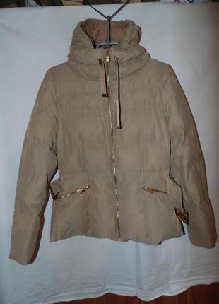 Куртка пуховик как новый одевался пару раз оригинал zara разме...