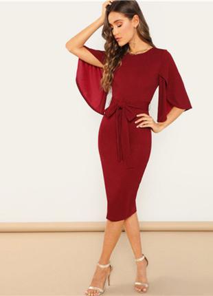 Тренд платье миди SHEIN