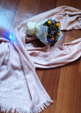 Мягкий, тепленький шарф