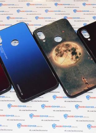 Стеклянный чехол для XiaoMi Redmi Note 5/Note 7/Mi A2/Mi A2 Lite