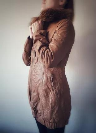 Куртка кожзам весна/осень