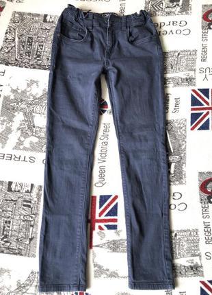 👍детские джинсовые штаны/c&a/11-12лет/152/состояние очень хоро...