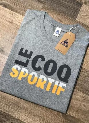 Le Coq Sportif мужская футболка.Оригинал.