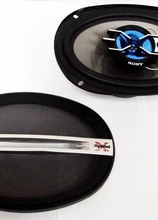 Автомобильная акустика колонки SONY XS-GTF6925 6x9 овалы (600W) 4