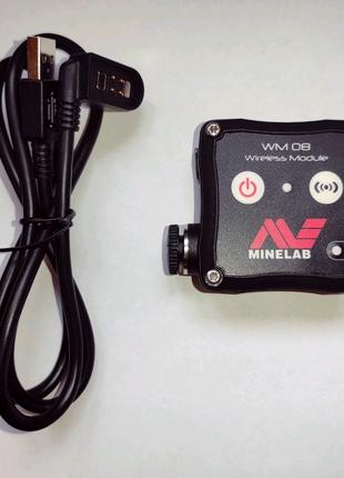 Minelab WM 08 Безпроводной аудиомодуль.