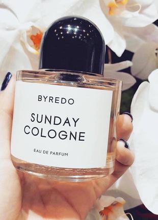 Byredo Sunday Cologne Оригинал EDP  3 мл Затест_парф.вода
