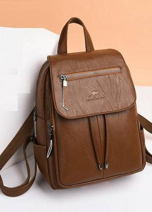 Рюкзак кенгуру  коричневый