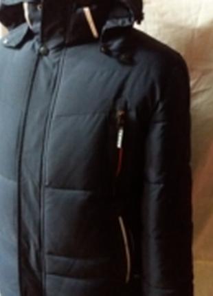 Мужская  красивая  зимняя  куртка