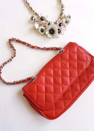 Фирменный клатч new look поясная сумка