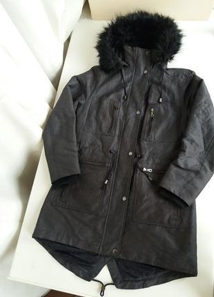 Парка mss куртка демисезонная / теплая женская пальто