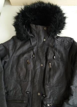 Парка mss куртка демизезонная / теплая женская пальто