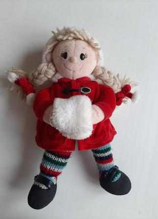 Снегурочка игрушка мягкая снегурка дед мороз