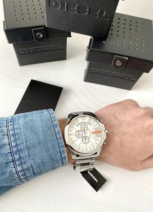 Diesel мужские часы оригинал чоловічий годинник dz4328 mega chief