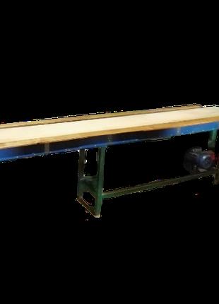 Инспекционный стол-конвеер, транспортер ленточный