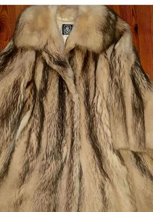 Продам шубу из натурального меха барсука