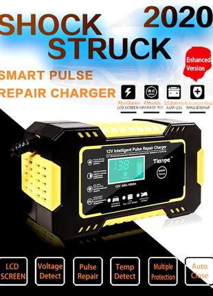 Умное зарядное устройство для автомобильного аккумулятора 12V 5-6