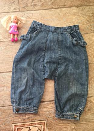 Стильные штанишки для девочки джинсы джоггеры штаны франция  gz