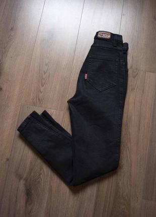 Вузькі джинси висока посадка