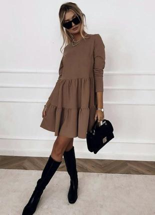 Классное платье любимая модель черный бордо шоколад