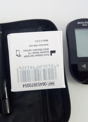 Глюкометр Accu chek Aviva + тест полоски для диабетиков сахара ин