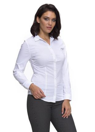 Белая женская рубашка lc waikiki / лс вайкики