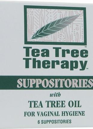 Суппозитории с маслом чайного дерева для вагинальной гигиены t...