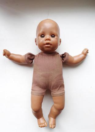 Кукла пупс zapf creation 2002 30 см мулат