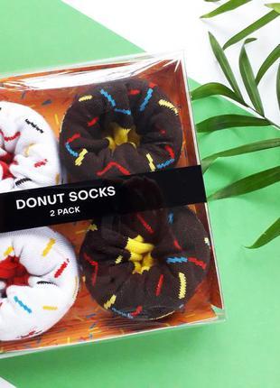 Набор носков 2 пары мужские носки хлопковые подарочные бренд c...