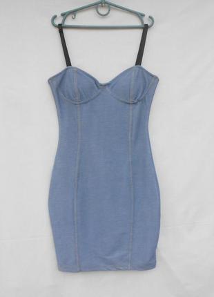 Базовое облегающее платье мини